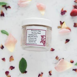 Rosehip French Clay Mask