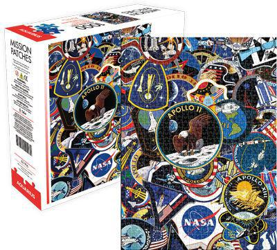 Nasa Mission Patches Puzzle 1000pc