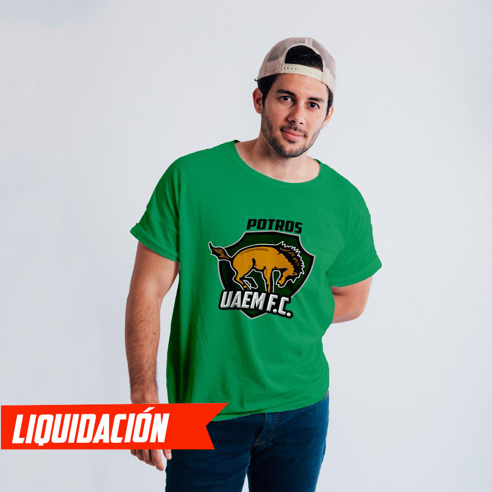 Playera Fan Potro Verde