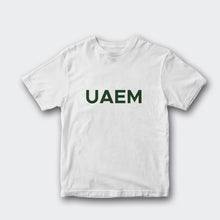Load image into Gallery viewer, Playera UAEM Blanco y Verde