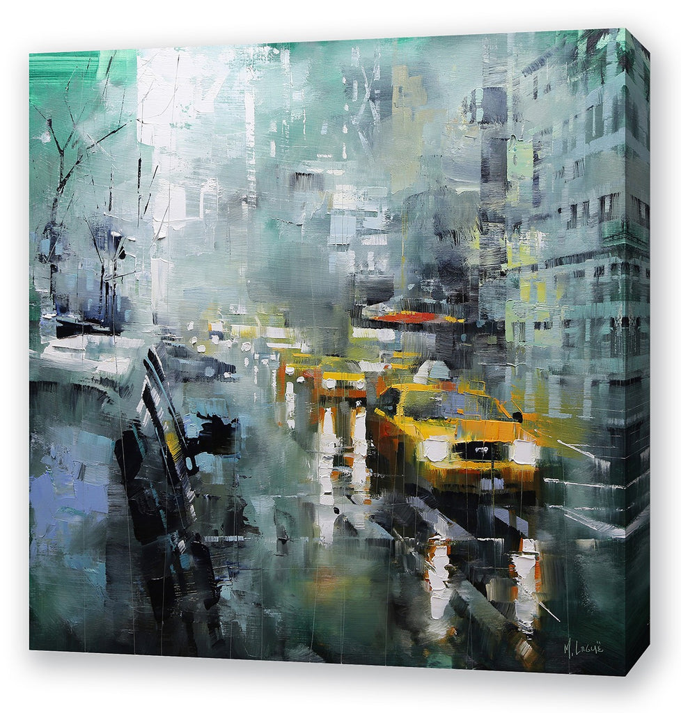 New York Rain By Mark Lague