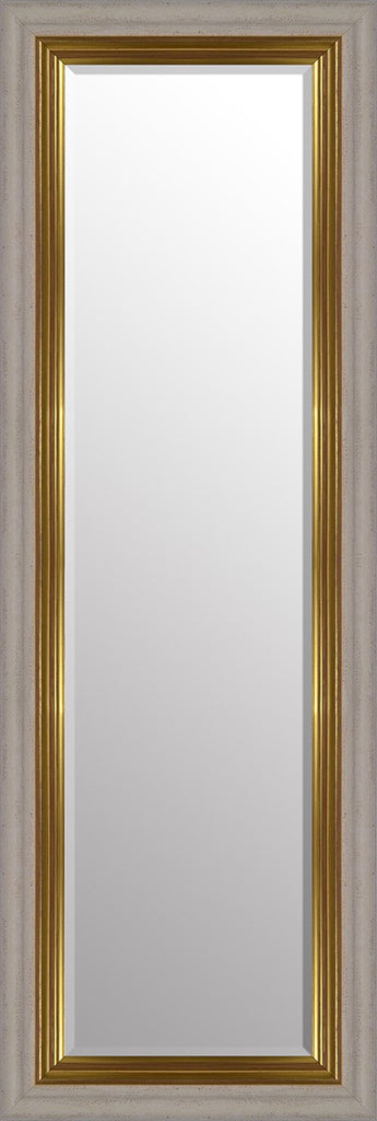 "Vienna Cream & Gold Mirror (54"" x 18"") By Spires Studio"