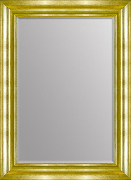 "Toro Gold Mirror (37"" x 27"") By Spires Studio"