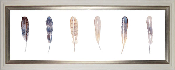 Watercolour Feathers I