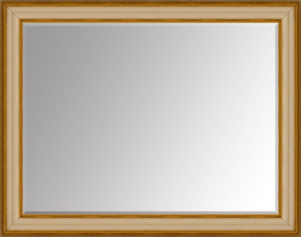 "Tynan Cream Mirror (46"" x 36"") By Spires Studio"