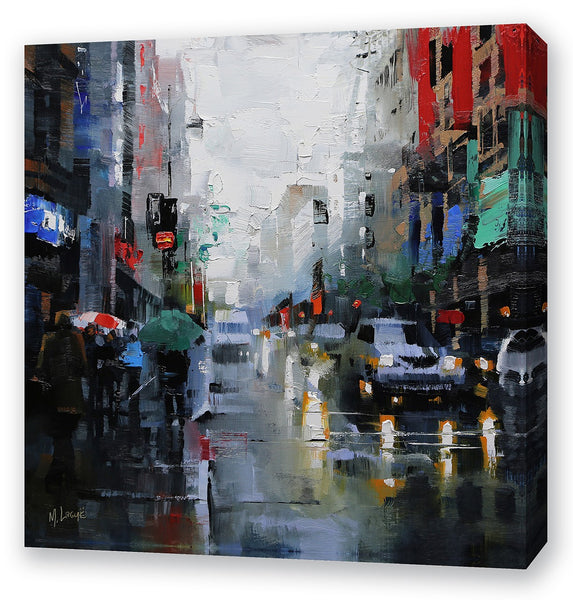 St Catherine Street Rain By Mark Lague