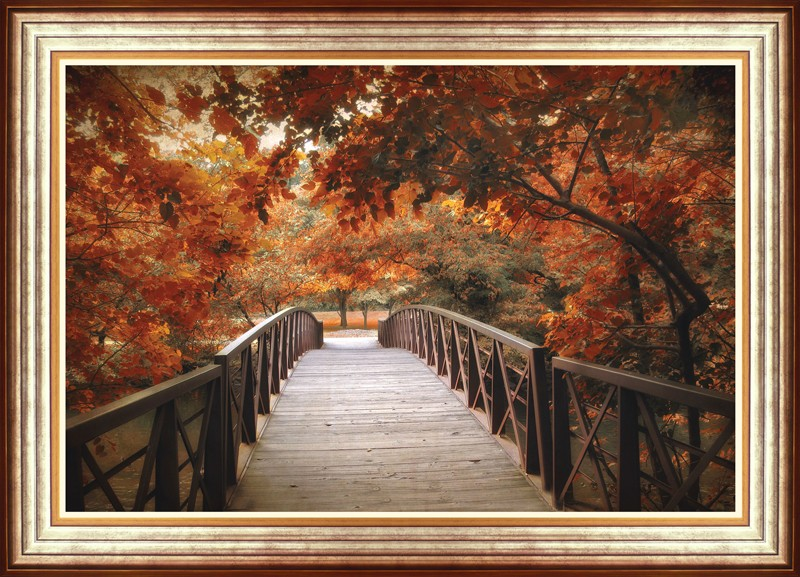 Footbridge By Jessica Jenney