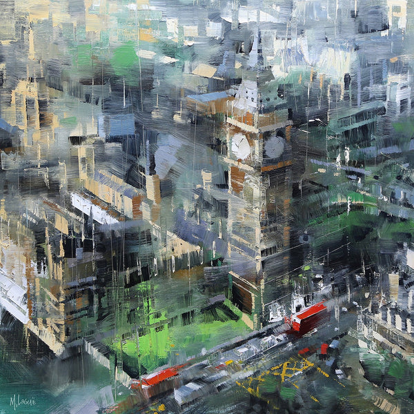 London Green Big Ben By Mark Lague