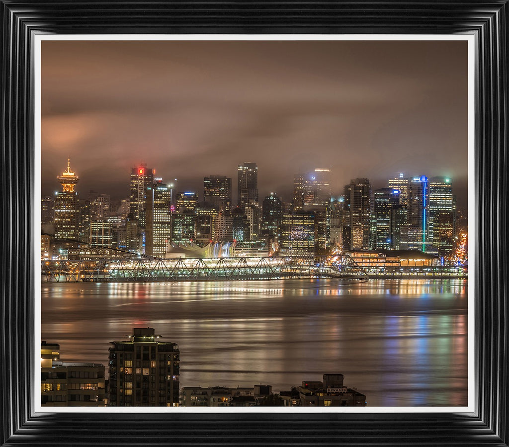 Vancouver Night By Tim Oldford