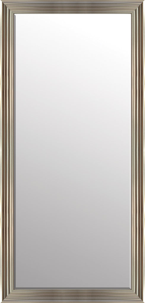 Hexham Silver Floor Mirror By Spires Studio