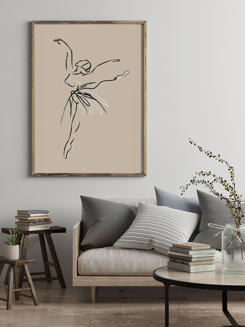 project-nord-abstract-ballerina-poster-in-interior-living-room