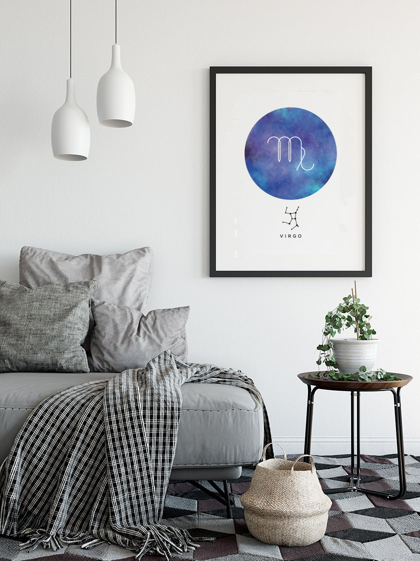 Virgo - Virgo Zodiac Sign Poster