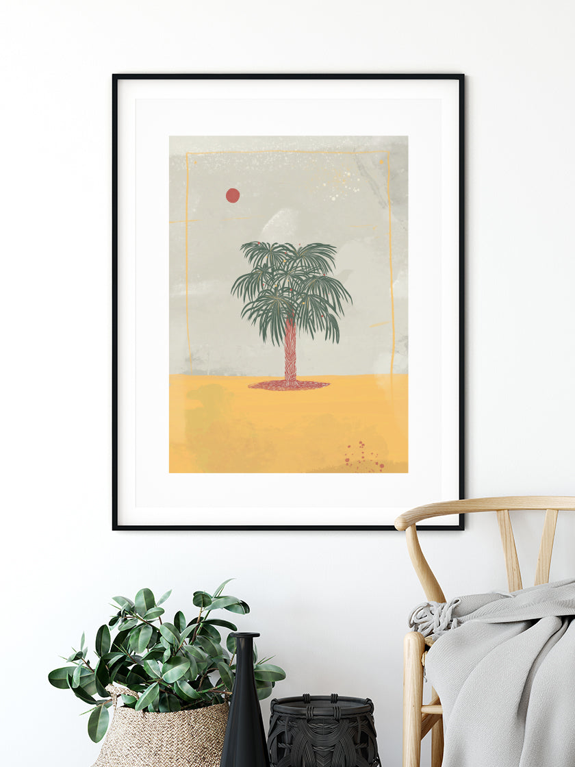 Summer Palm - Poster