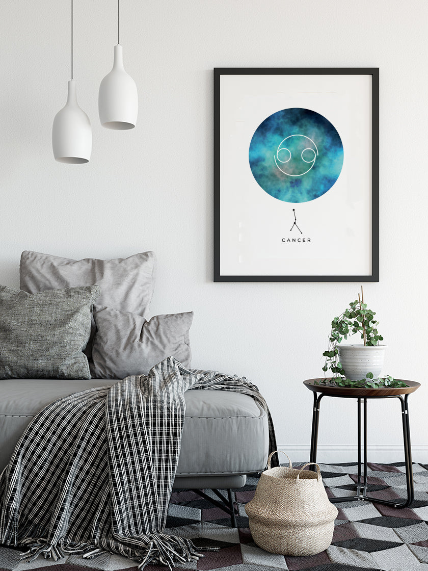 Cancer - Cancer Zodiac Sign Poster