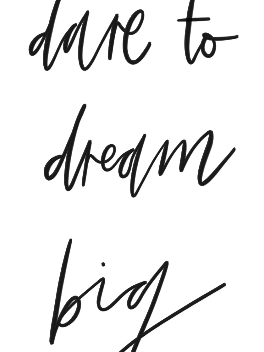 inspirational-dream-big-poster-closeup