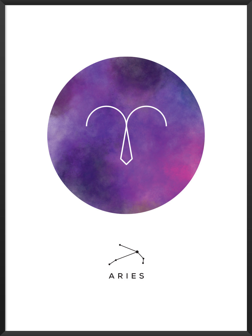 Aries - Aries Zodiac Sign Poster