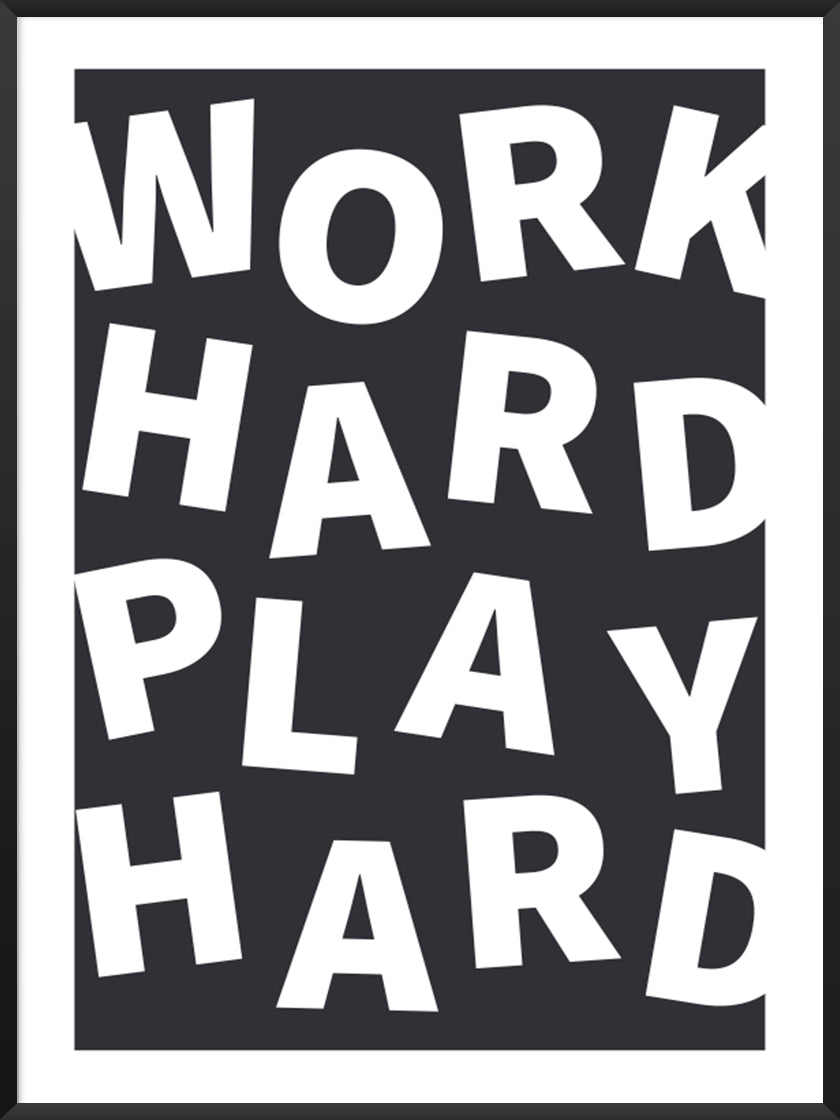 project-nord-work-hard-play-hard-poster-product-picture