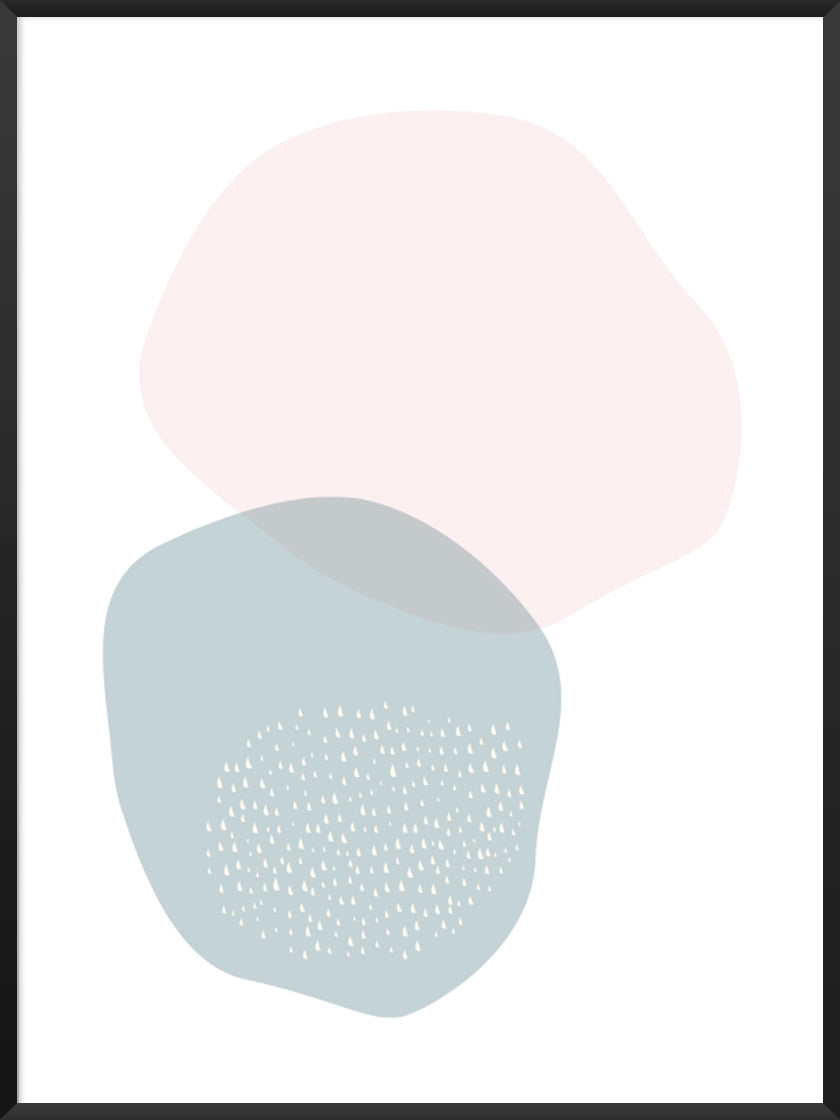blue-and-pink-circle-pastel-shapes-poster-product-picture