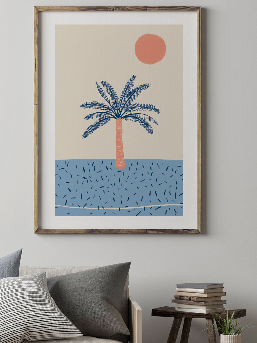 Tropical Palm - Poster
