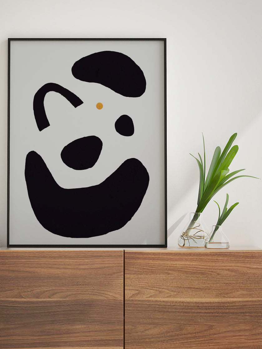 project-nord-flow-black-motifs-poster-in-interior