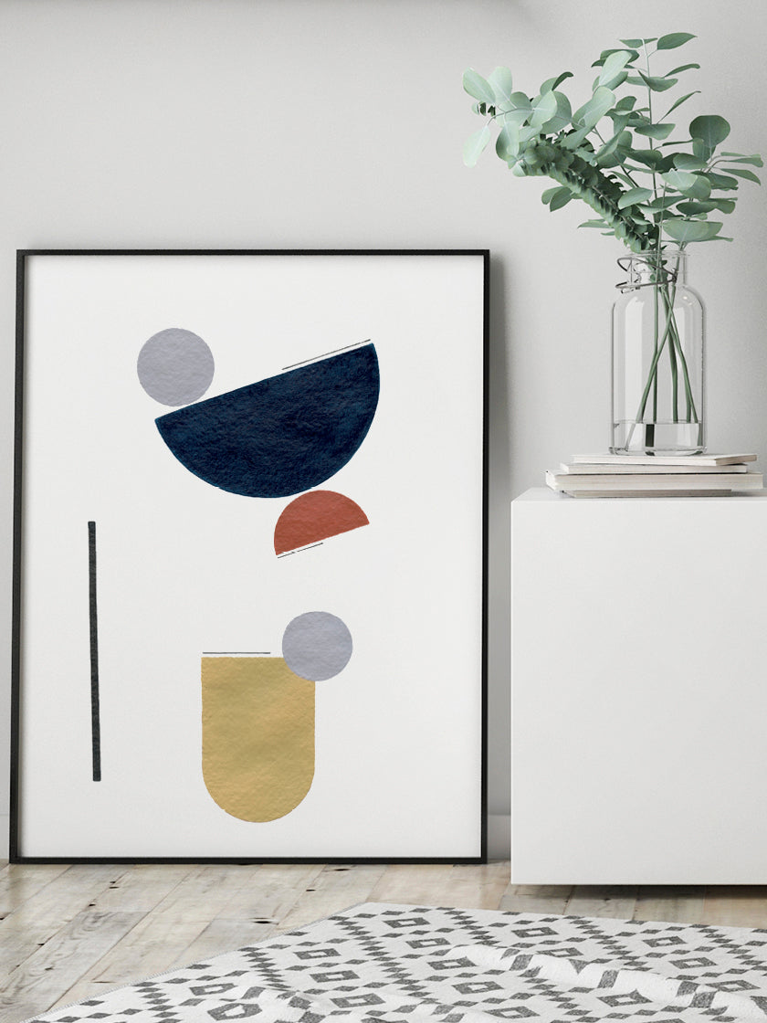 project-nord-abstract-geometric-textures-poster-in-interior