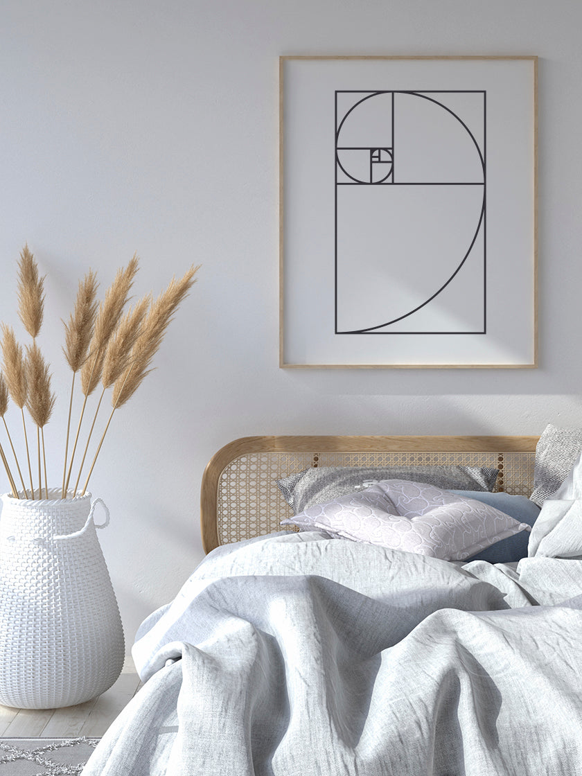 project-nord-the-golden-ratio-poster-in-interior-bedroom