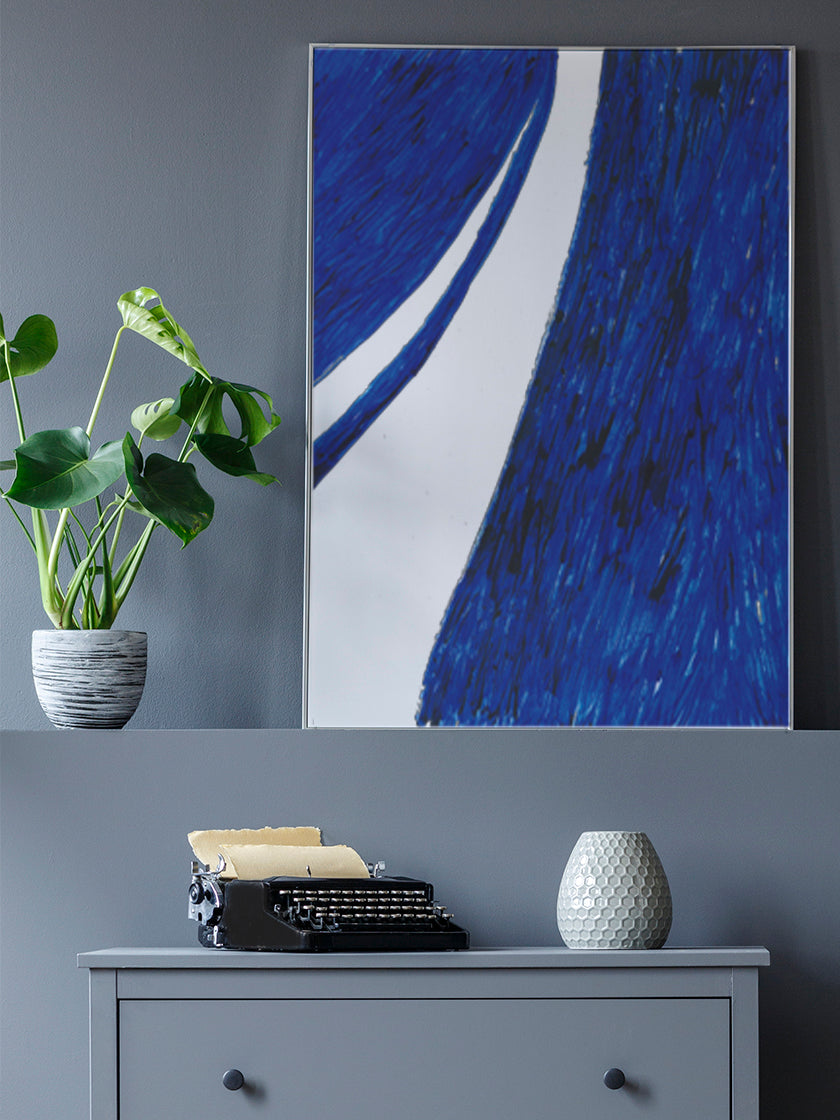 project-nord-la-rue-blue-watercolour-poster-in-interior