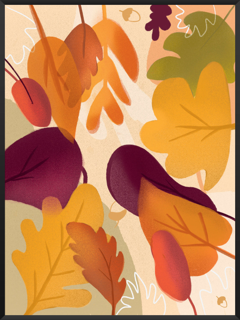 project-nord-autumn-leaf-poster-product-picture