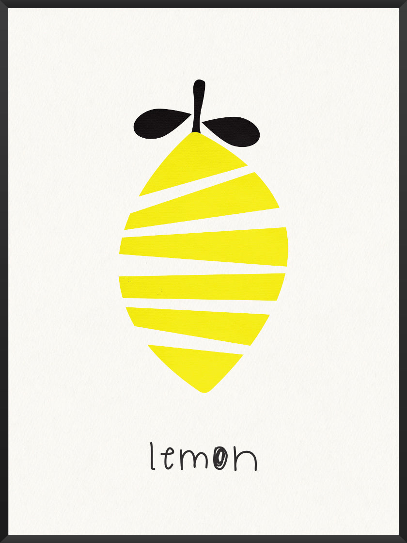 Lemon - Lemon Kids Room Poster