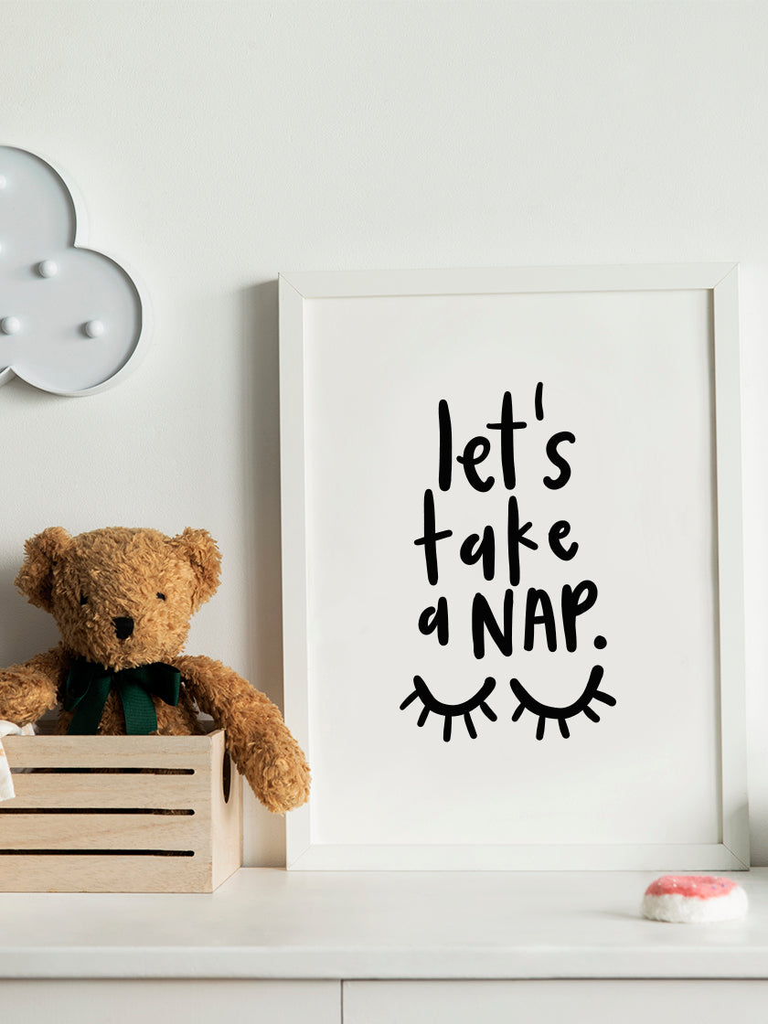 project-nord-lets-take-a-nap-poster-in-interior-kids-room