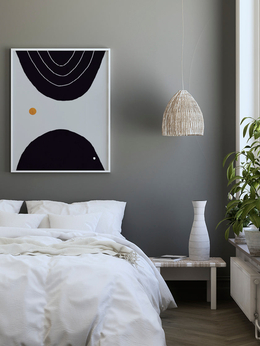 project-nord-meeting-abstract-circles-poster-in-bedroom-interior
