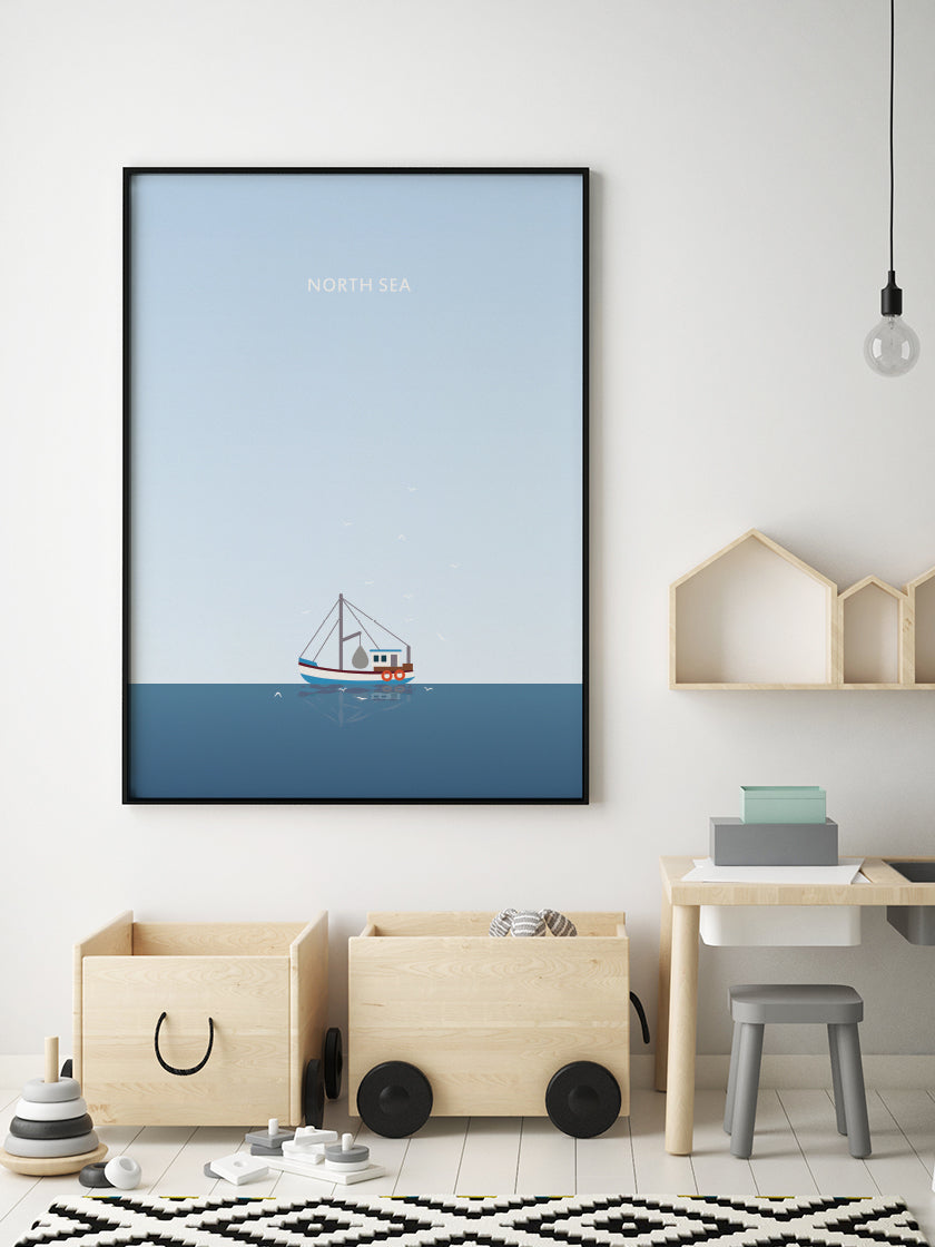project-nord-north-sea-nautical-sea-poster-in-interior-nursery-room