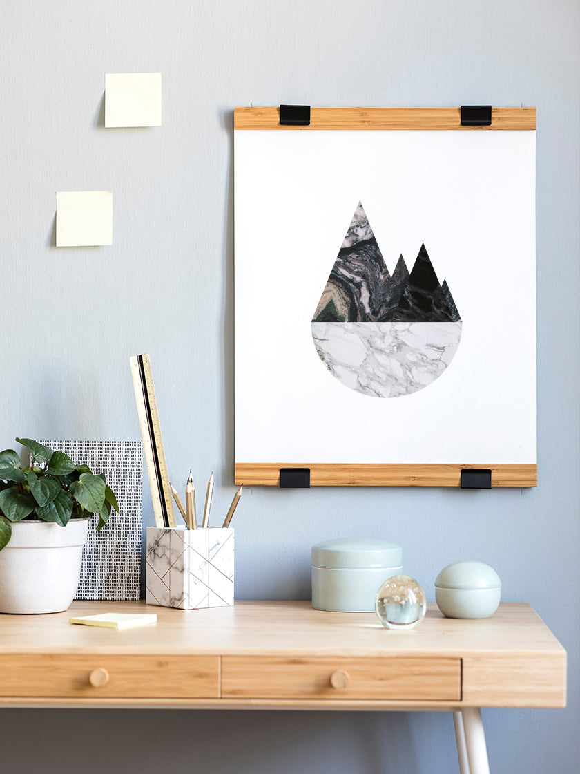 marble-mountains-poster-in-interior-home-office