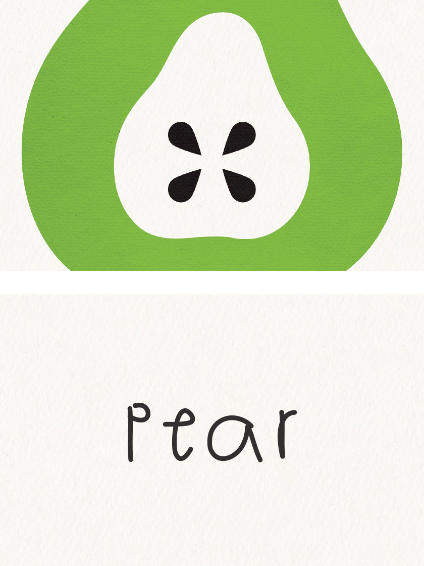 Pear - Pear Kids Room Poster