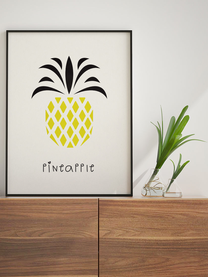 Pineapple - Pineapple Kids Room Poster