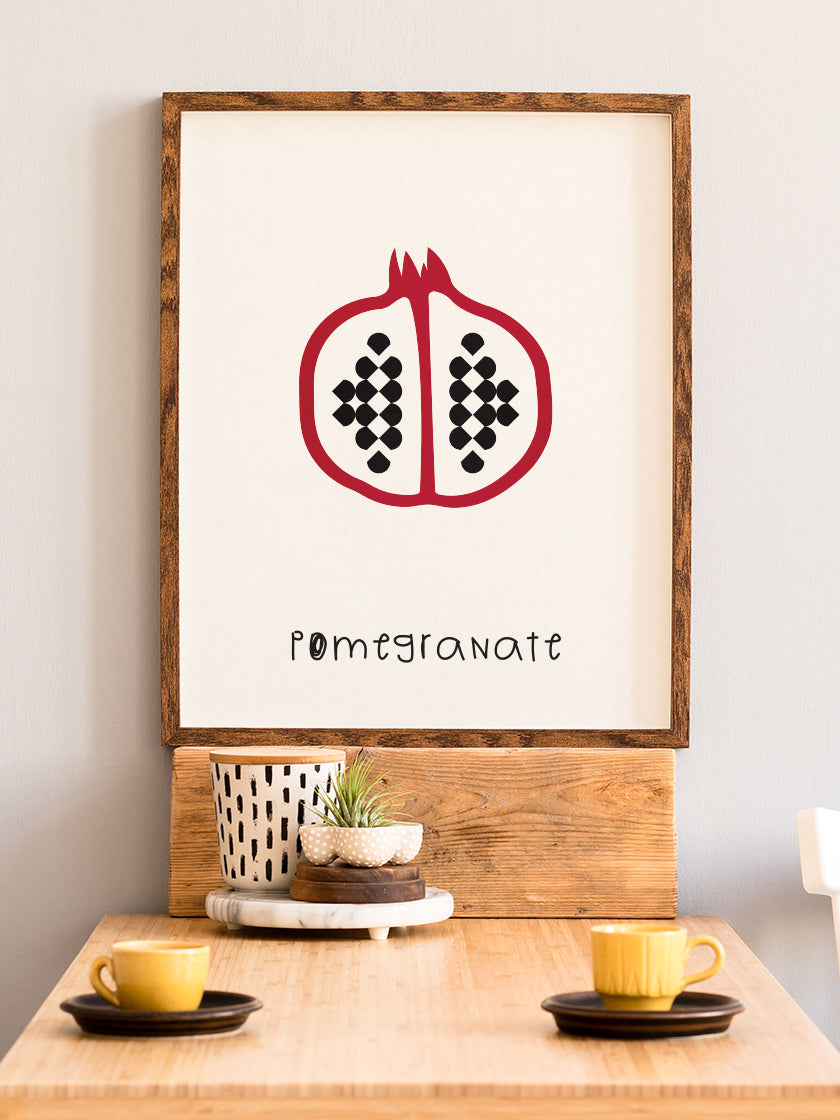 Pomegranate - Pomegranate Kids Room Poster