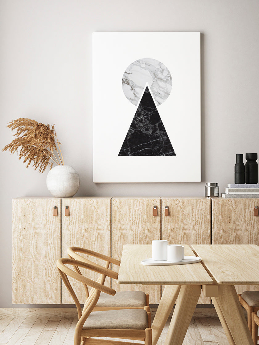 marble-pyramid-poster-in-interior-dining-room