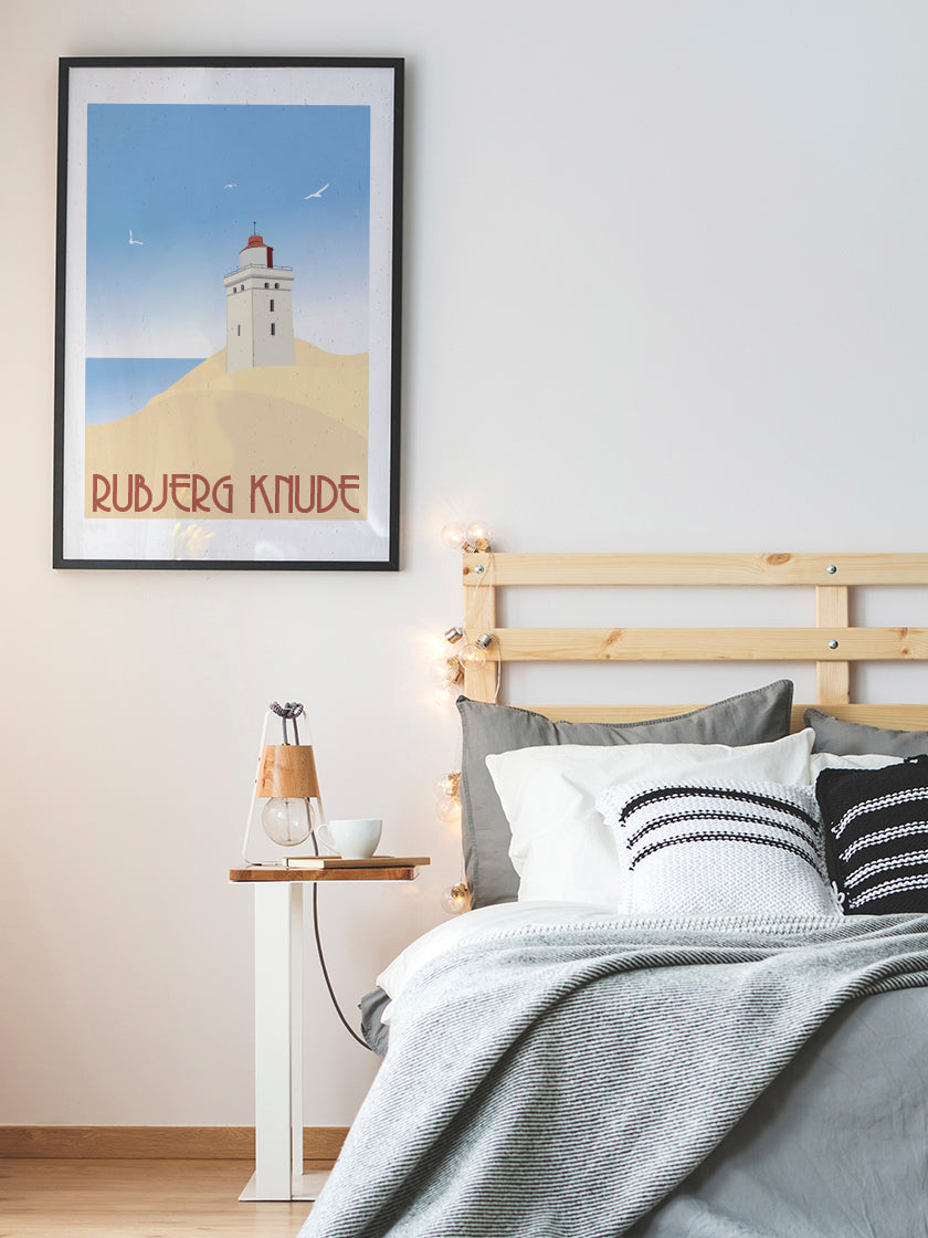 project-nord-rubjerg-knude-danish-lighthouse-poster-in-interior-bedroom