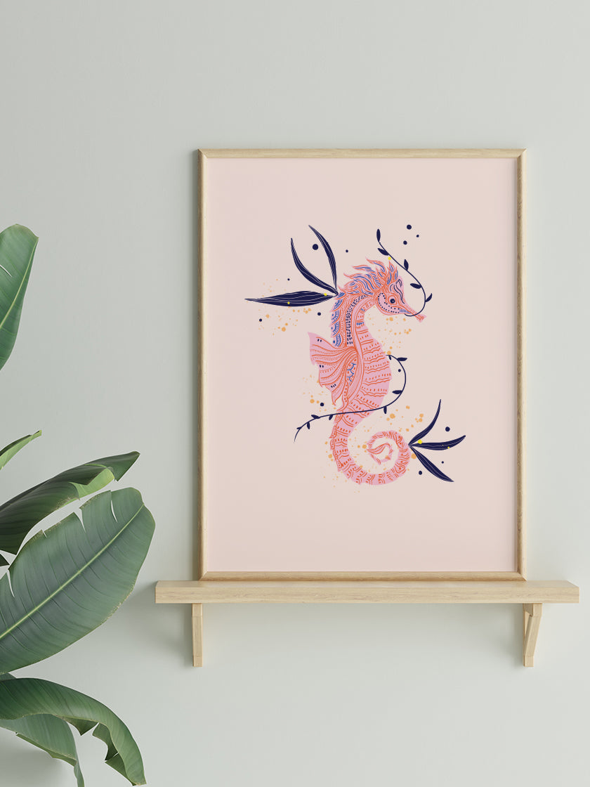 Seahorse - Poster