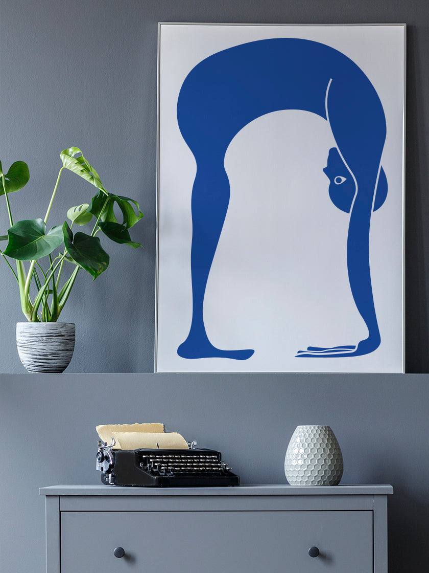 project-nord-uttanasana-yoga-poster-in-interior-living-room