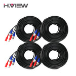 4PC 100ft (30m) BNC Cable & DC Plug