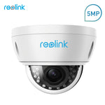 Reolink Security Camera 5MP PoE 4x Optical Zoom Built-in SD card Slot Outdoor Indoor Waterproof IP Camera RLC-422-5MP