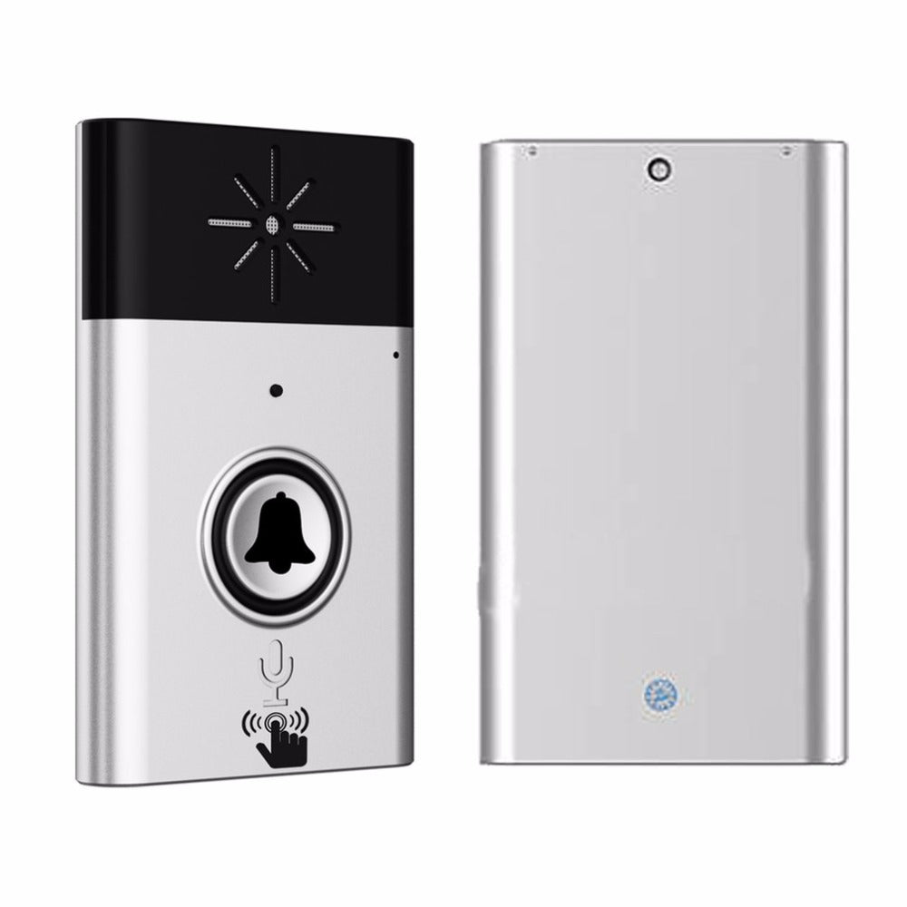 CST-H611 H6 Wireless Doorbell Voice Intercom 300M Distance Outdoor Transmitter Indoor Receiver Intelligent With Fixed Paste