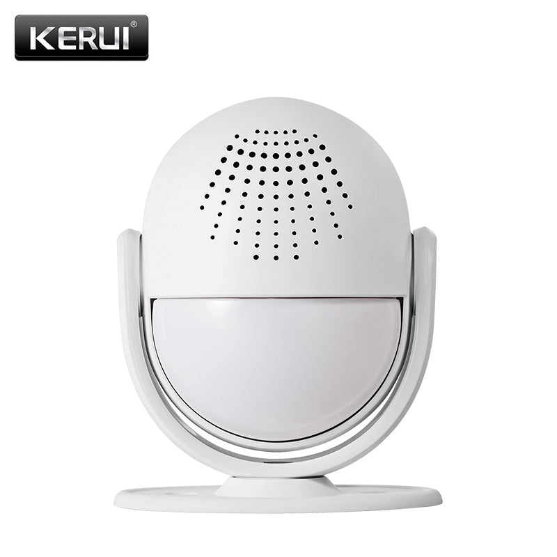 KERUI M6 Smart Alarm System Welcome Door Home Shop Doorbell Welcome Device wireless infrared anti-theft alarm