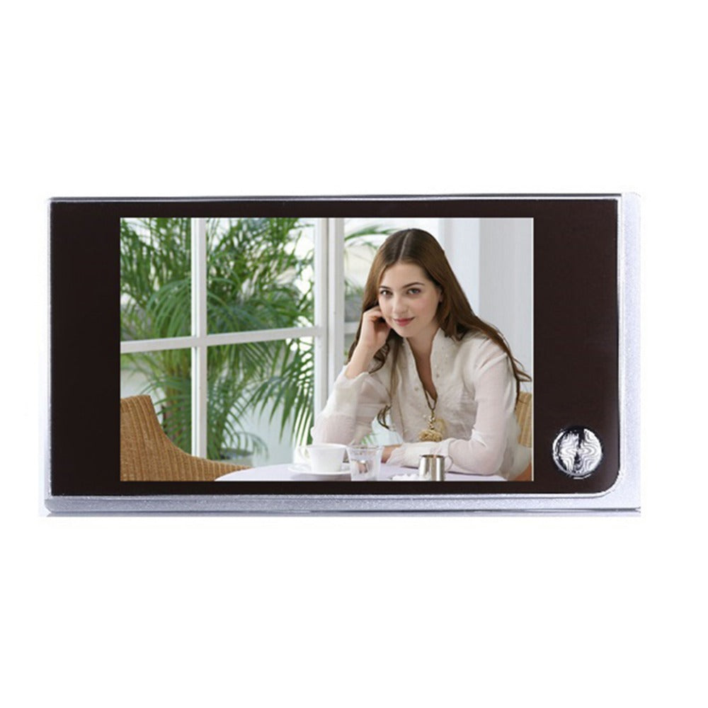 3.5 inch LCD Digital Doorbell 120 Degree Video
