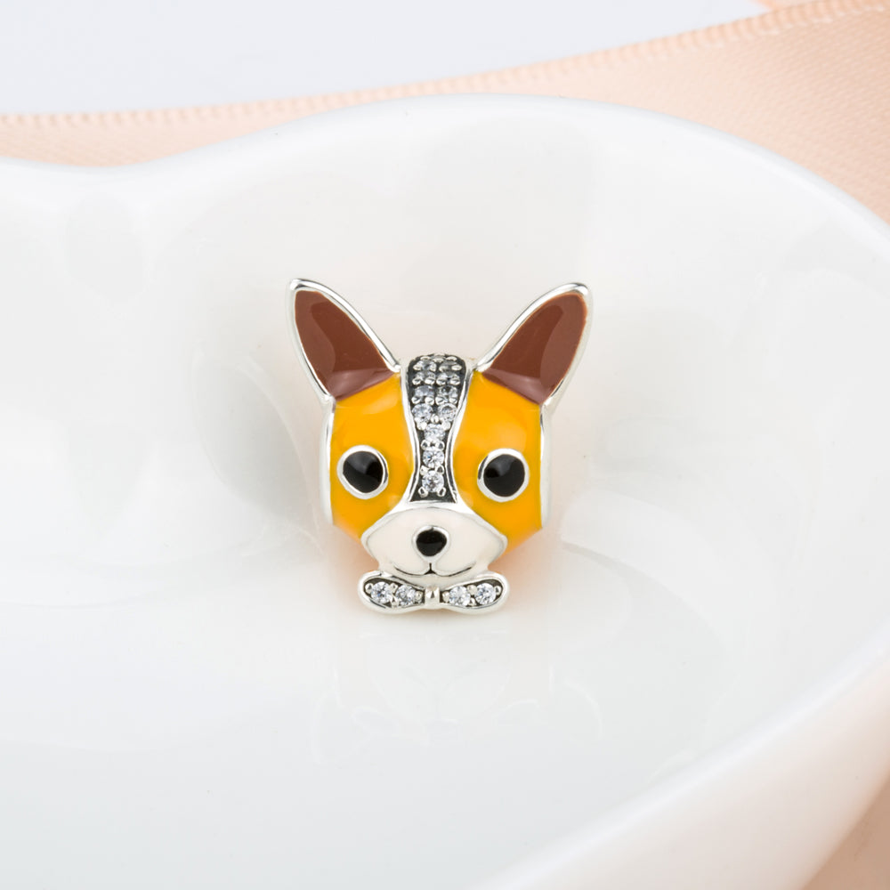 f4a4d18b8 ... discount code for 925 sterling silver yellow chihuahua charm a0f64 d0f78