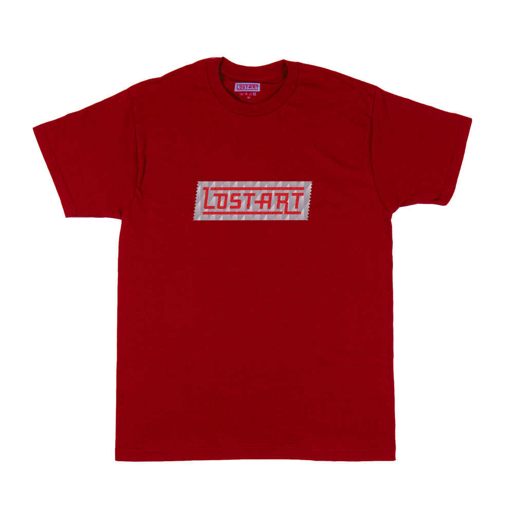 Lost Art -</br>LAgo Away Tee S/S </br>Red