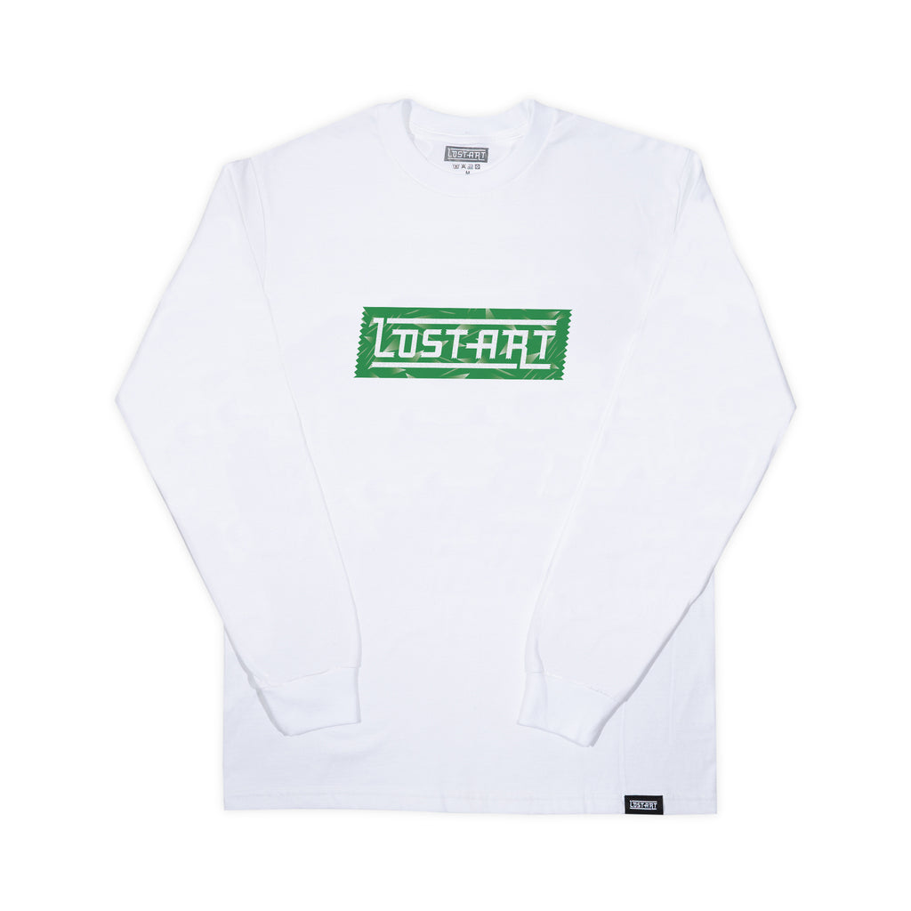 Lost Art -</br>LAgo Keeper Tee L/S </br>White