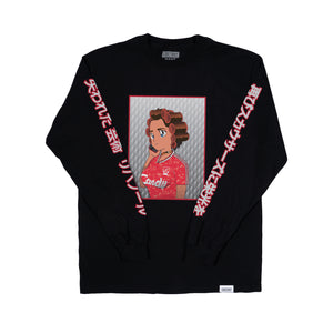 Lost Art -</br>Candy Girl Tee L/S </br>Black