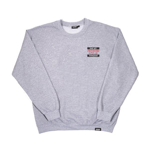 Lost Art -</br>Candy Girl Crew Neck </br>Sport Grey